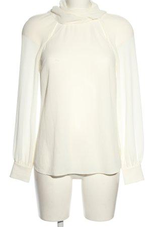 VERONICA BEARD Blusa con lazo blanco look casual