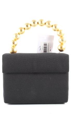 Veronica Pohle Stofftasche schwarz-goldfarben Elegant