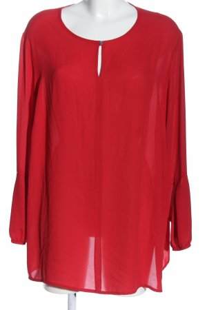 Verpass Langarm-Bluse rot Casual-Look