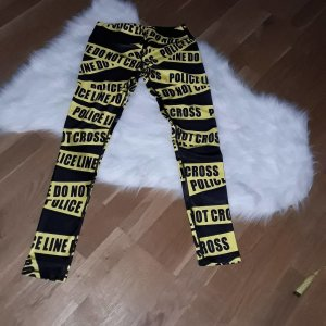 verrückte Leggins police dont cross