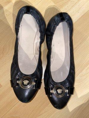 Versace Ballerines pliables noir-doré