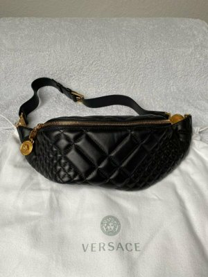 Versace Bumbag black-gold-colored