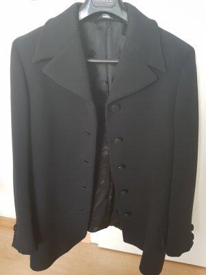 Gianni Versace Wool Blazer black