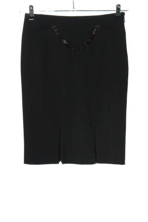 Versace Bleistiftrock schwarz Casual-Look