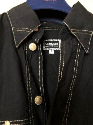 Versace Bluse schwarz