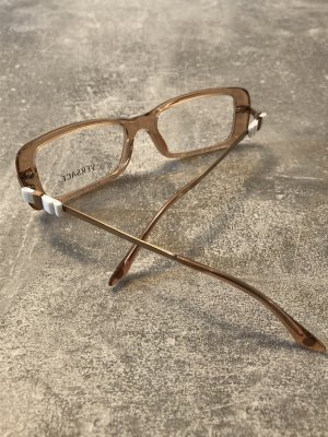Versace Glasses nude