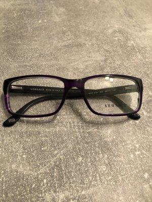 Versace Gafas violeta amarronado