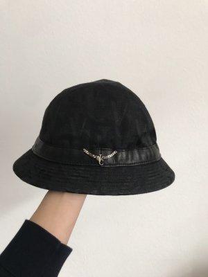 Versace Cappello da pescatore nero