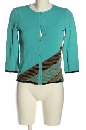 Versace Cardigan motif rayé style décontracté