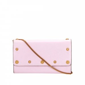 Versace Chain Leather Crossbody Bag
