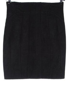 Versace Collection Skórzana spódnica niebieski W stylu casual