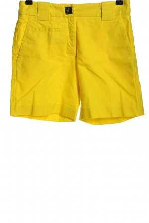 Versace Collection Shorts blassgelb Casual-Look