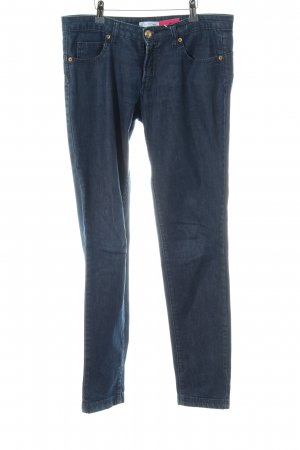 Versace Collection Skinny Jeans blau Casual-Look