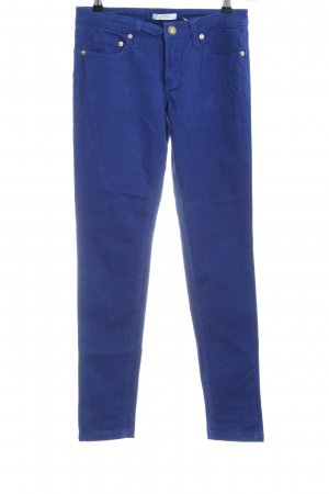 Versace Collection Slim Jeans blau Casual-Look