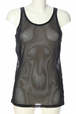 Versace Collection Strappy Top black casual look