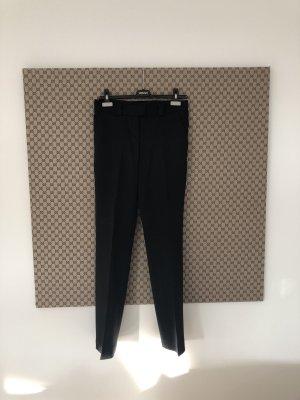 Versace Cotoure Wollhose schwarz