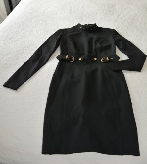 Versace Stretch Dress black viscose