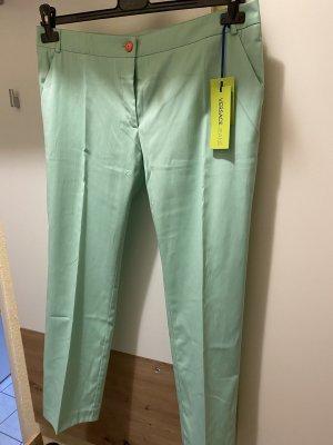 Versace Pantalon 7/8 vert menthe