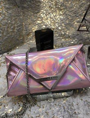 Versace Jeans Sac Baril argenté-rose clair