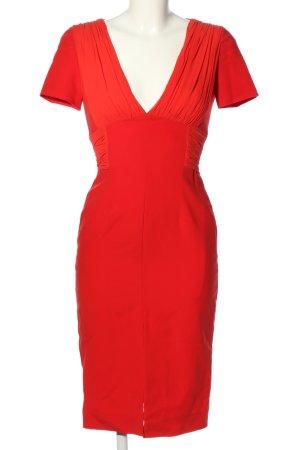 Versace Robe fourreau rouge élégant