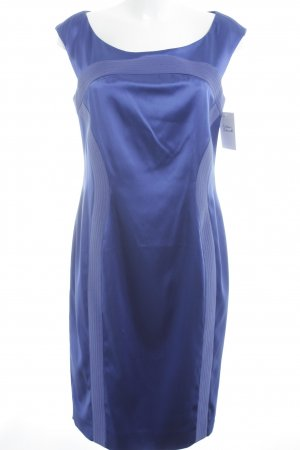 Versace Etuikleid blau Elegant