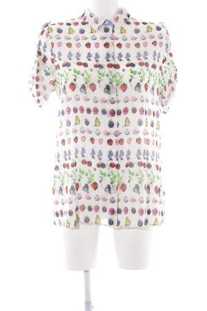 Versace for H&M Kurzarmhemd Allover-Druck extravaganter Stil