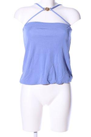 Versace for H&M Spaghettiträger Top blau Casual-Look