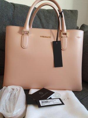 Versace Handbag Vitello Tasche Handtasche Crossbody Leder Rosa Gold ungetragen