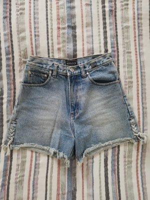 Versace high rise Jeans short