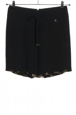 Versace High-Waist-Shorts black casual look
