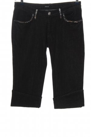 Versace Jeans 3/4-Hose schwarz Casual-Look