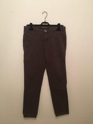 Versace Jeans 40 dunkelbraun Luxus Designer hochwertig Schokolade braun chino Five Pocket Baumwolle elastisch elasthan
