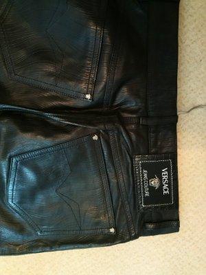 Versace Jeans Couture Echtleder Hosen