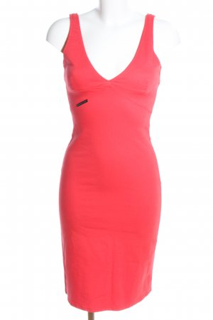 Versace Jeans Couture Etuikleid rot Casual-Look