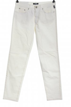 Versace Jeans Couture Low-Rise Trousers white casual look