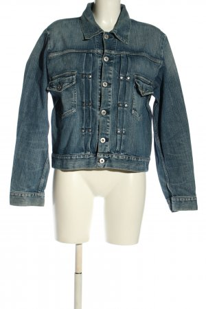 Versace Jeans Couture Jeansjacke blau Casual-Look