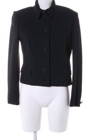 Versace Jeans Couture Kurz-Blazer schwarz Business-Look