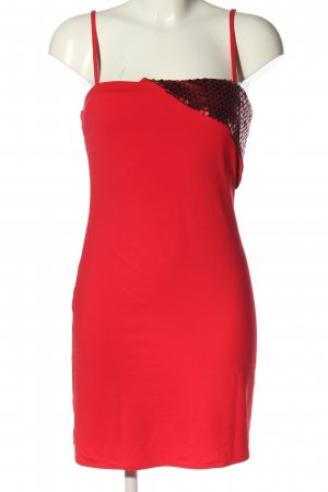 Versace Jeans Couture Minikleid rot Casual-Look