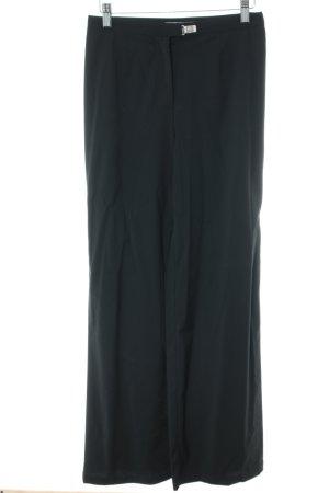 Versace Jeans Couture Pallazzobroek zwart elegant