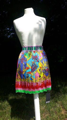 Versace Midi Skirt red