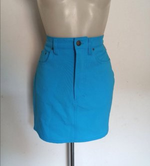 Versace Jeans Couture Rock Gr S 36-38 blau Vintage