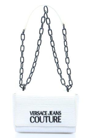 "Versace Jeans Couture Schultertasche ""Croco Crossbody Bag"" weiß"