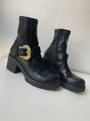 Versace Jeans Botas deslizantes negro