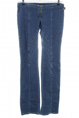 Versace Jeans Couture Straight-Leg Jeans blau Casual-Look