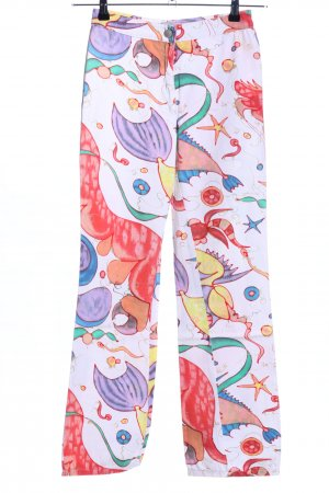 Versace Jeans Couture Stretch Trousers abstract pattern party style