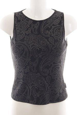 Versace Jeans Couture Tanktop zwart zakelijke stijl