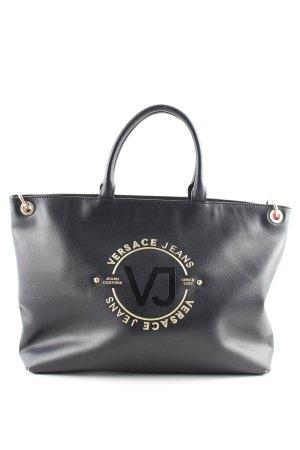 Versace Jeans Sac Baril noir style décontracté