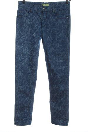 Versace Jeans High-Waist Hose blau Casual-Look