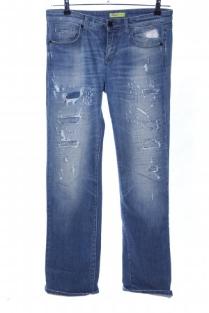 Versace Jeans Hüftjeans blau Casual-Look