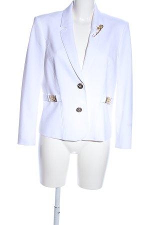 Versace Jeans Jerseyblazer weiß Business-Look